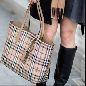 Burberry Reversible Tote- NWT